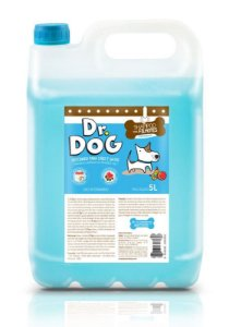 Shampoo Cachorro e Gato Neutro Filhotes Dr Dog 5L hipoalergênico peles sensíveis