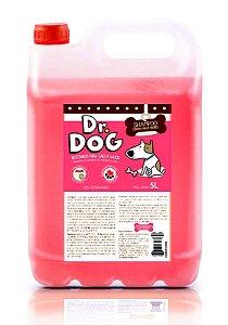 Kit Banho & Tosa Dr. Dog Pré Lavagem e Clareador 5L hipoalergênico peles sensíveis