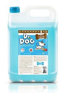 Kit Banho & Tosa Dr. Dog Pré Lavagem e Shampoo Neutro 5L cachorro e gato