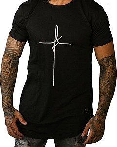 c92c01402 Camiseta Long The Hope Premium Suede Lead Preta - Loja 021