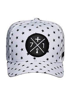 Boné Mais 71 Estrelas Branco