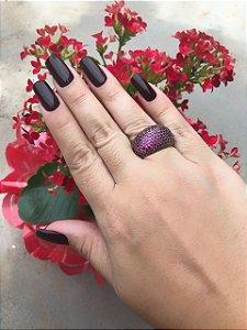 Anel em micro zircônia rose , pintada em ródio negro , banhado em ouro 18   , garantia no banho , TAMANHOS 16 e 19