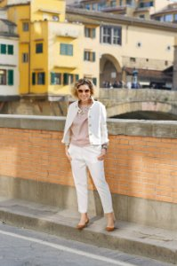 Jaqueta firenze off white