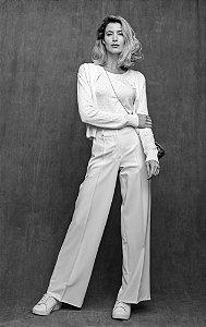 Calça Pantalona CB Off White