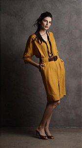 Vestido New Florina Amarelo