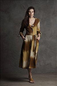 Vestido Midi Viscose