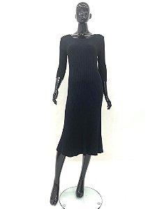 Vestido Tricot Canelado