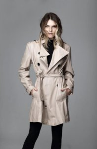 Trench Coat Couro Caramelo