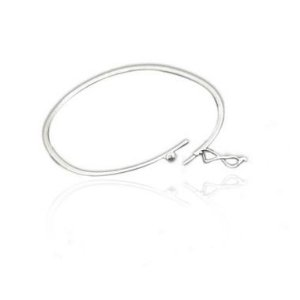 Pulseira Estilo Bracelete Prata 925