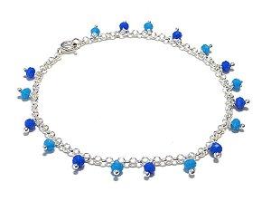 Pulseira Shades of Blue Prata 925