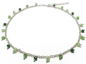 Choker Shades of Green