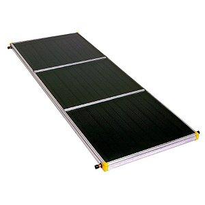 Coletor Aquecedor Solar 2x1 Metros - 162,6kWh/mês Classe A