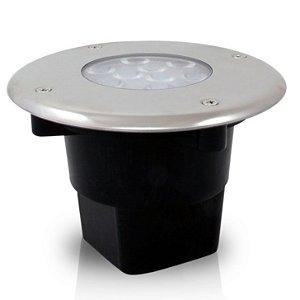 Balizador LED 10 Watts Deck Inox 90º - Bivolt