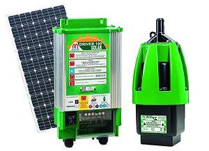 Kit Bomba Solar P/ Poços e Cisternas Anauger P100 Até 8.600 Litros Dia