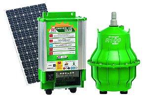 Kit Bomba Solar P/ Reservatórios, Lagos e Cisternas Anauger R100 Até 8.600 Litros Dia