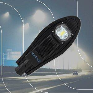 Luminária LASLED Pública Street Pétala 50 Watts - LED Chip Philips