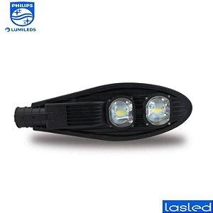 Luminária LASLED Pública Street Pétala 150 Watts - LED Chip Philips