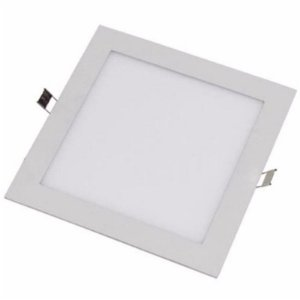 Embutido LED Downlight Slim 12 Watts - Quadrado