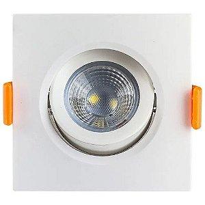 Spot LED Direcionável 5 Watts Quadrado - Bivolt