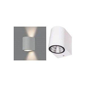 Arandela LED 4+4 Watts Curvada Branca Bivolt - IP65