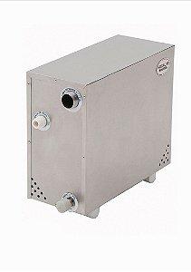 Sauna Vapor Elétrica Inox Plus Mini 6.000w até 6m² - Bifásica ou Trifásica