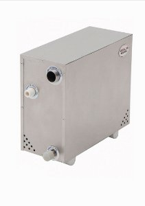Sauna Vapor Elétrica Inox Plus Mini 12.000w até 18m² - Bifásica ou Trifásica