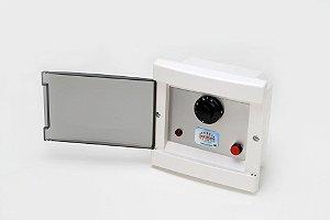 Quadro Termostato Analógico de Temperatura Sauna Elétrica Seca