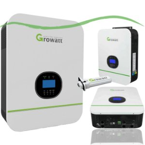 Inversor Solar Growatt On Grid 1.5KW Mono 220V 1 MPPT Wireless
