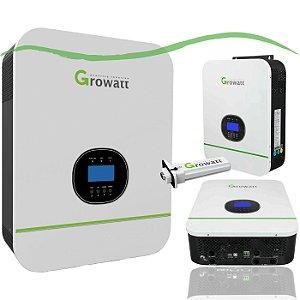 Inversor Solar Growatt On Grid 6KW Monofásico 220V 2 MPPT Monitoramento Wireless