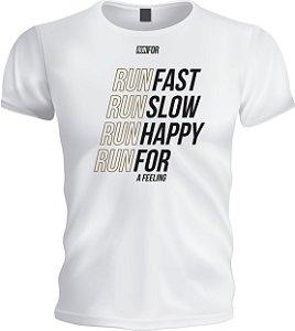 Camiseta Runfor - Run Fast