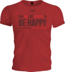 Camiseta Runfor - Happy