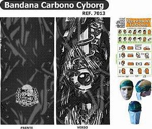 BANDANA CARBONO CYBORG