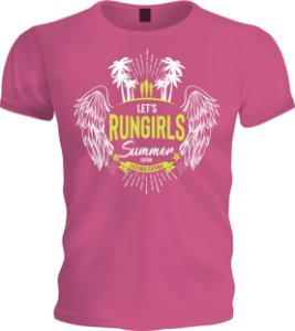 Camiseta Let's Run Girls | Summer Edition