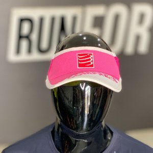 VISEIRA COMPRESSPORT ULTRA LIGHT | BRANCA E ROSA