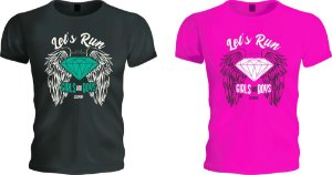 Camiseta Let's Run Girls | Boys and Girls Edition