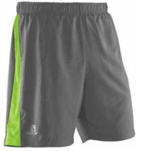 SALOMON - 4 WAY SHORT - CINZA