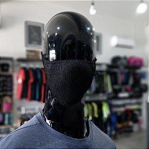 MASCARA DE PROTEÇÃO - PRETA COM GRAFITE