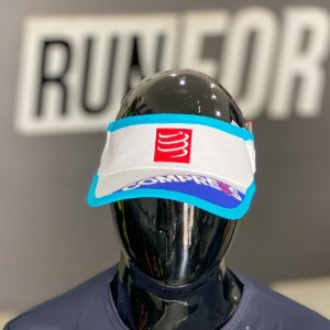 VISEIRA COMPRESSPORT ULTRA LIGHT / AZUL COM BRANCO