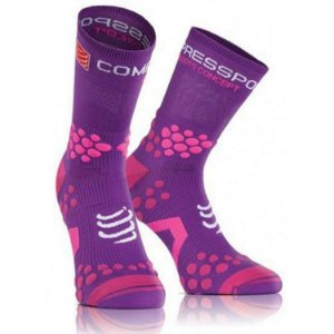 MEIA COMPRESSPORT TRAIL - ROXA