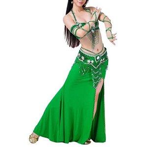 Vestido para Dança Verde