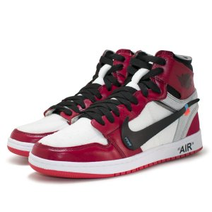 bb7c9743b0 Tênis Nike Air Jordan Off White Masculino - Vermelho e Branco