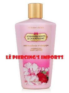 Hidratante Corporal Strawberries And Champagne Victoria's Secret Body Lotion 250ml