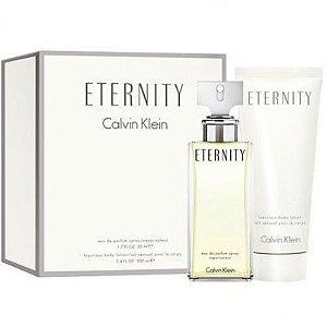 Perfume Eternity 100ml + Hidratante 100ml Calvin Klein Eau de Parfum Feminino