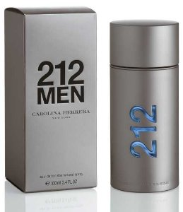 Perfume 212 Men 100ml Carolina Herrera Eau de Toilette Masculino