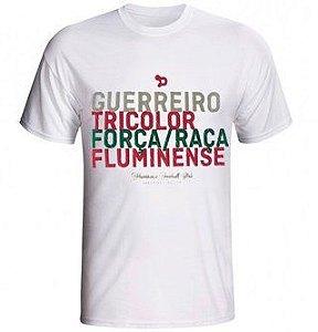 Camisa Casual Fluminense Dryworld Guerreiro Tricolor
