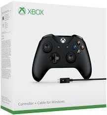 XboxOne - Controle Xbox One S com cabo para Windows