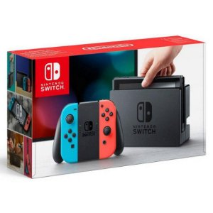 Switch - Console Nintendo Switch Vermelho e Azul