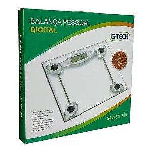 BALANÇA DIGITAL GTECH - GLASS 200
