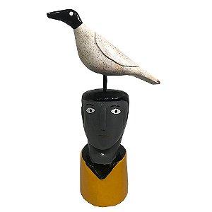 Cabeça com Pássaro - Cícero - AL
