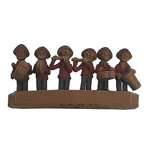 Mini escultura Banda de Pífanos - AL